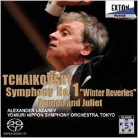 ャイコフスキー:交響曲第1番「冬の日の幻想」CDのジャケット写真