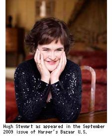 スーザン・ボイルの近影写真
